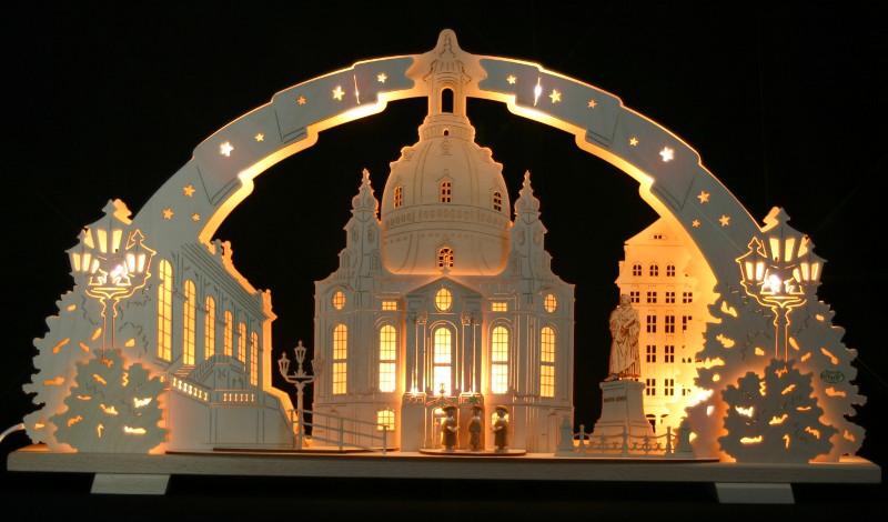 3d schwibbogen lichterbogen dresdener frauenkirche 70x40cm erzgebirge dresden ebay. Black Bedroom Furniture Sets. Home Design Ideas